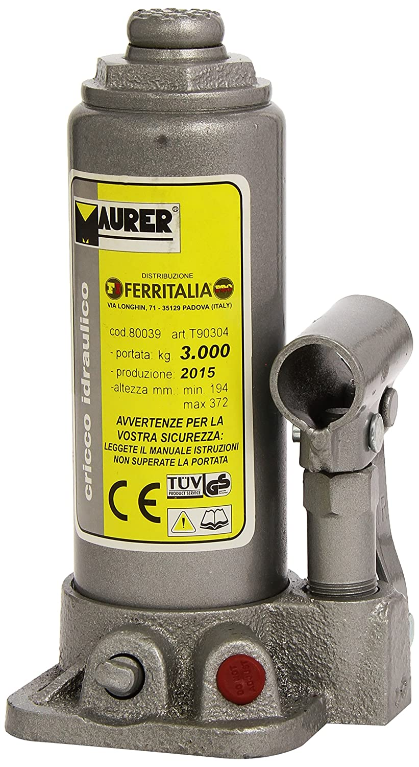 MAURER 2325505 Gato Hidraulico Botella 3000 Kg. A Forged Tool S.A.