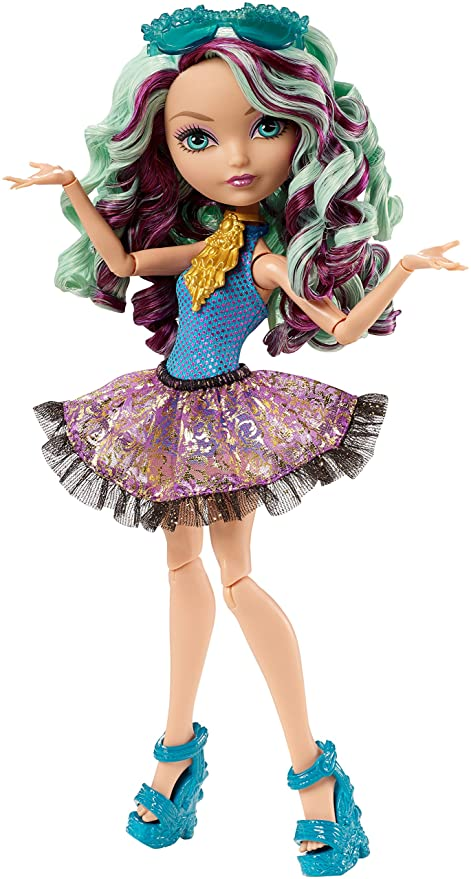 amazon com ever after high mirror beach madeline hatter doll toys