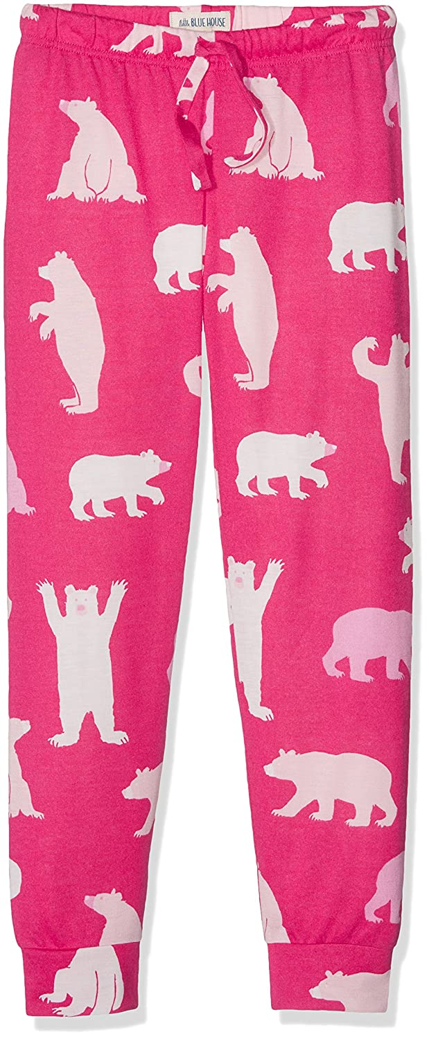 Hatley Tween Fuchsia Bears Lounge Pants, Pantaloni da Pigiama Bambina Little Blue House by Hatley PAIWIBE302