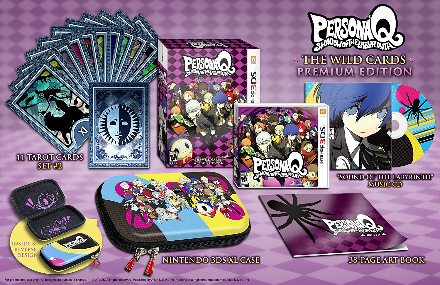 Amazon com: Persona Q: Shadow of the Labyrinth - The Wild