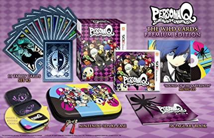 Persona Q: Shadow Of The Labyrinth   The Wild Cards Premium Edition, Nintendo 3 Ds by By          Atlus