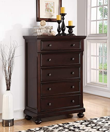 Image Unavailable Not Available For Color Roundhill Furniture B088c Brishland 5 Drawers Bedroom