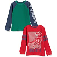 Marca Amazon - Spotted Zebra 2-Pack Long-Sleeve Thermal Tops Niños