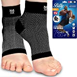 Bitly Plantar Fasciitis Compression Socks for Women & Men - Best Ankle Compression Sleeve, Nano Brace for Everyday Use…