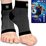 Plantar Fasciitis Socks, Compression Foot Sleeves with Arch Support for Men