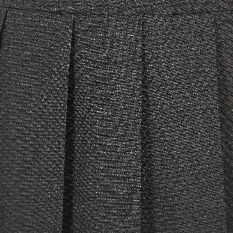 Grey /& Navy Off The High Street Girls Pleated School Skirt School Uniform Black