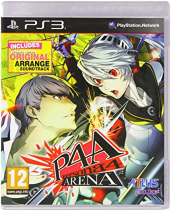 Resultado de imagem para persona 4 arena cover ps3