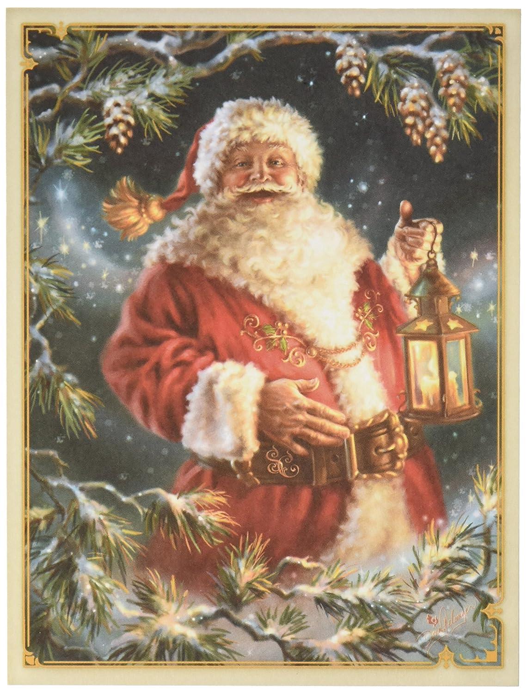花ソフト カード トッパー - クリスマス マジック サンタ B009WSKFFG