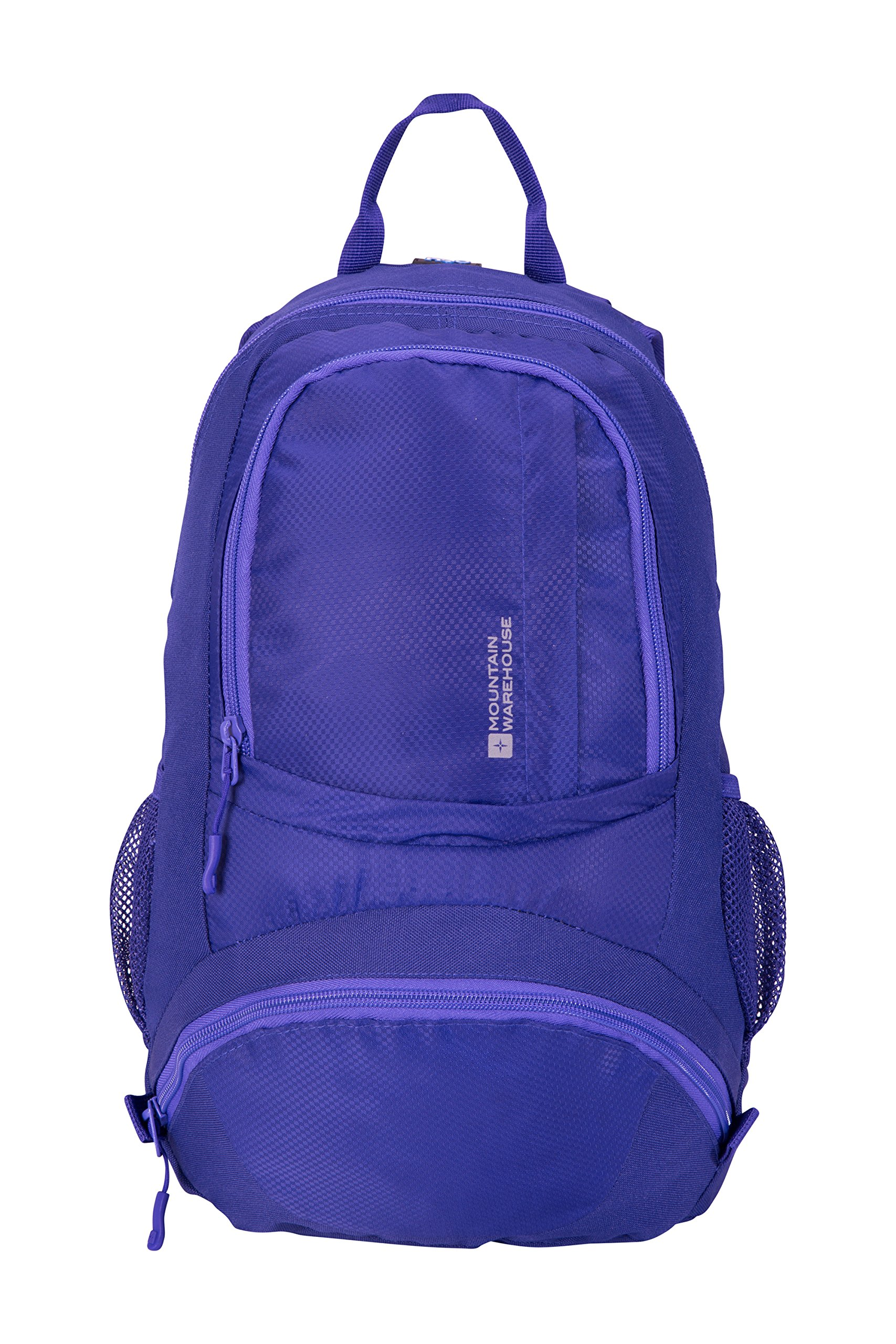Mountain Warehouse Endeavour 12L Backpack - Durable Summer Rucksack Lilac