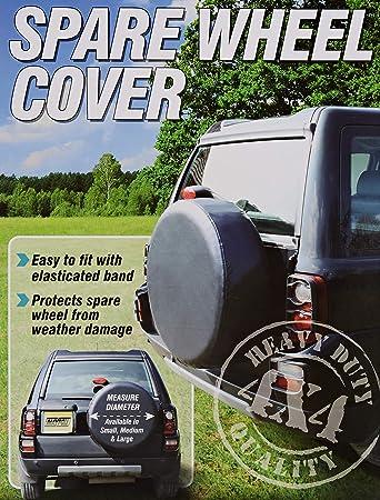 camping car para tama?o 265//70R16 AERZETIX: Funda para rueda de repuesto caravana color negro para coche vehiculos 4x4