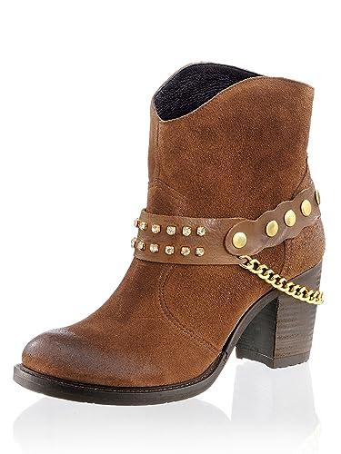 sports shoes 49679 91b52 Alba Moda Stiefelette im Cowboy-Stil: Amazon.de: Schuhe ...