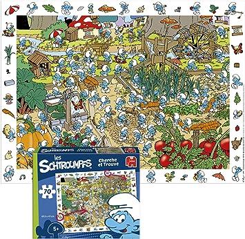 Diset Sa- Puzzle - Schtroumpf, 70 Pièces (TOY41034): Amazon.es: Juguetes y juegos