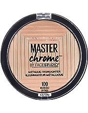 MAYBELLINE Master Chrome Metallic Highlighter - Molten Gold, 6.7 Grams