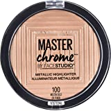 MAYBELLINE Master Chrome Metallic Highlighter - Molten Gold, 6.7 Grams