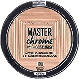 Maybelline New York Face Studio Master Chrome Metallic Highlighter, Molten Gold, 6.7g