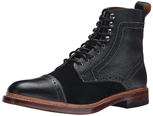 18 Best Black Leather Boots For Men Modern Casual