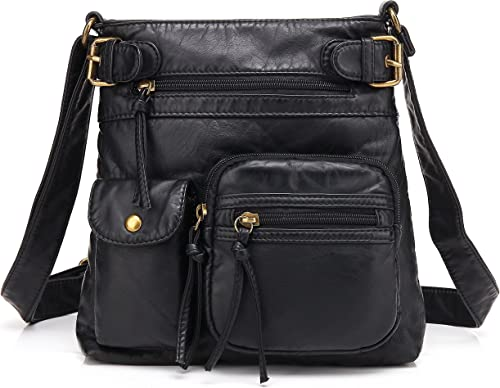 Scarleton Multi Pocket Crossbody Bag for Women