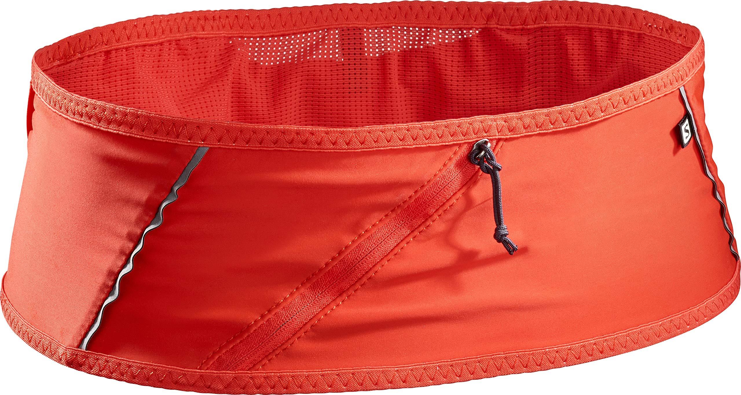 Salomon Unisex Pulse Belt, Fiery Red, X-Small