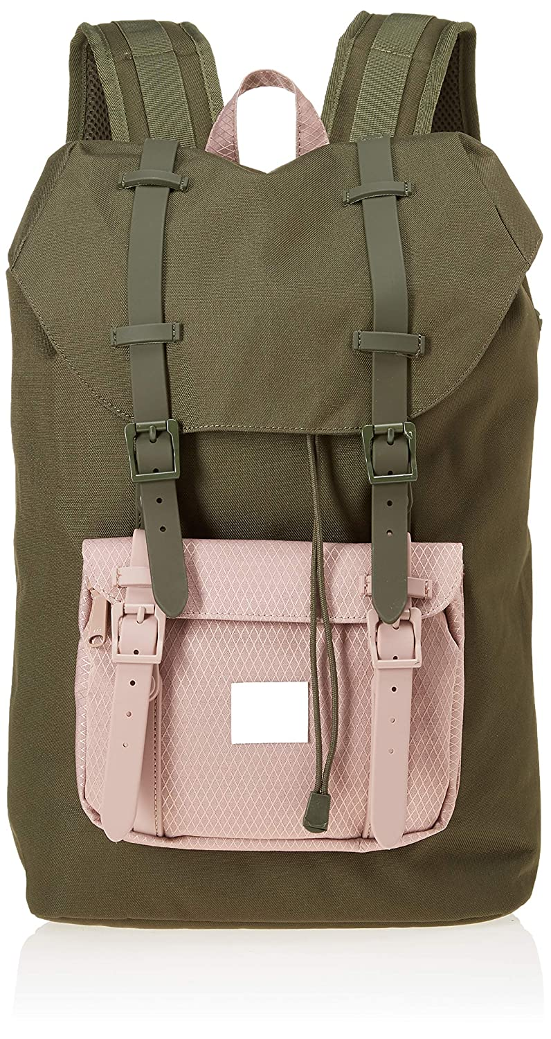 Amazon.com   Herschel Little America Mid-Volume Backpack Forest Night Ash  Rose One Size   Kids  Backpacks ad839a9549
