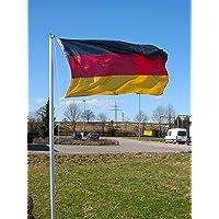 Mástil de bandera de 4 piezas 6,2 m