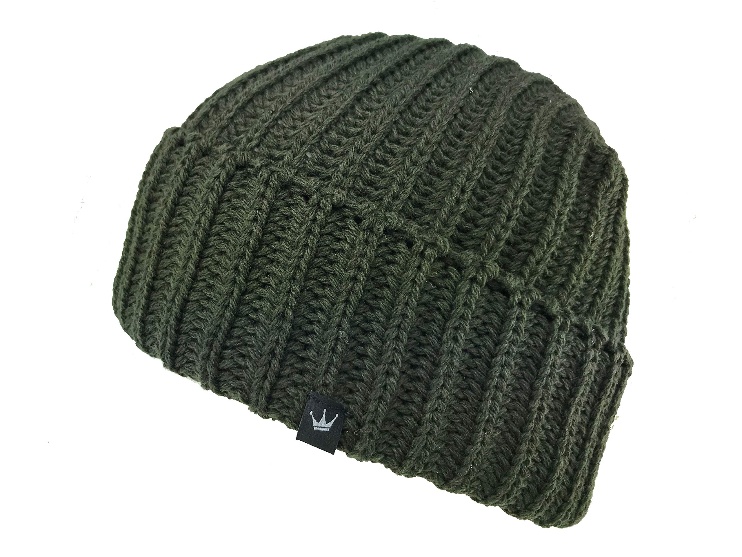 Icebox Knitting Dohm Otto Kelp Winter Wool Hat Skull Cap Beanie for Men and Women by Icebox Knitting