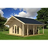 Allwood Bella | 237 SQF Kit Cabin with 86 SQF Loft