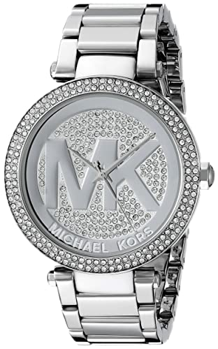 e8bd83a3ac60 Amazon.com  Michael Kors Women s Parker Silver-Tone Watch MK5925  Michael  Kors  Watches