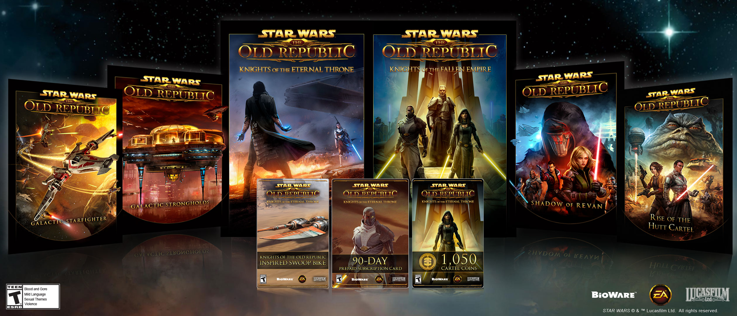 Software : Star Wars: The Old Republic – Knights of the Eternal Throne – Amazon Premium Pack [Online Game Code]