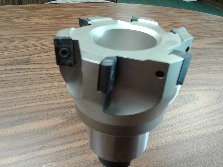 "Sandvik #506-SDVK 2-1//2/"" 90 degree indexable face mill MT3 arbor shell mill"