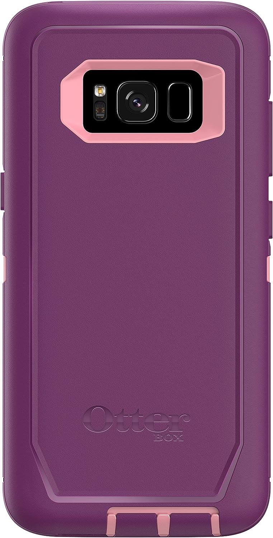 Otterbox Defender Series Screenless Edition for Samsung Galaxy s8 - Frustration Free Packaging - Vinyasa (Rosmarine/Plum Haze)