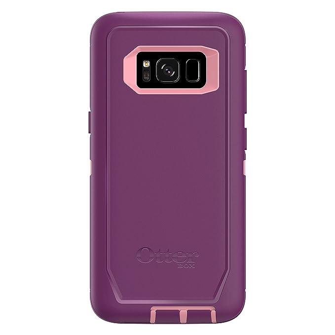 promo code 1550e 78f5a OtterBox Defender Series SCREENLESS Edition for Samsung Galaxy S8 -  Frustration Free Packaging - Vinyasa (Rosmarine/Plum Haze)