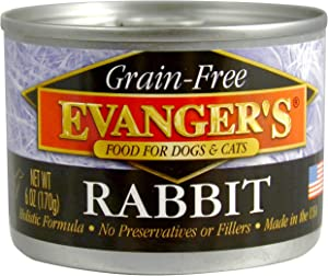 Evanger's Grain-Free Single Protein Game Meats for Dogs & Cats