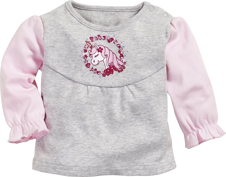 Schnizler Baby-M/ädchen Sweatshirt Einhorn Langarmshirt