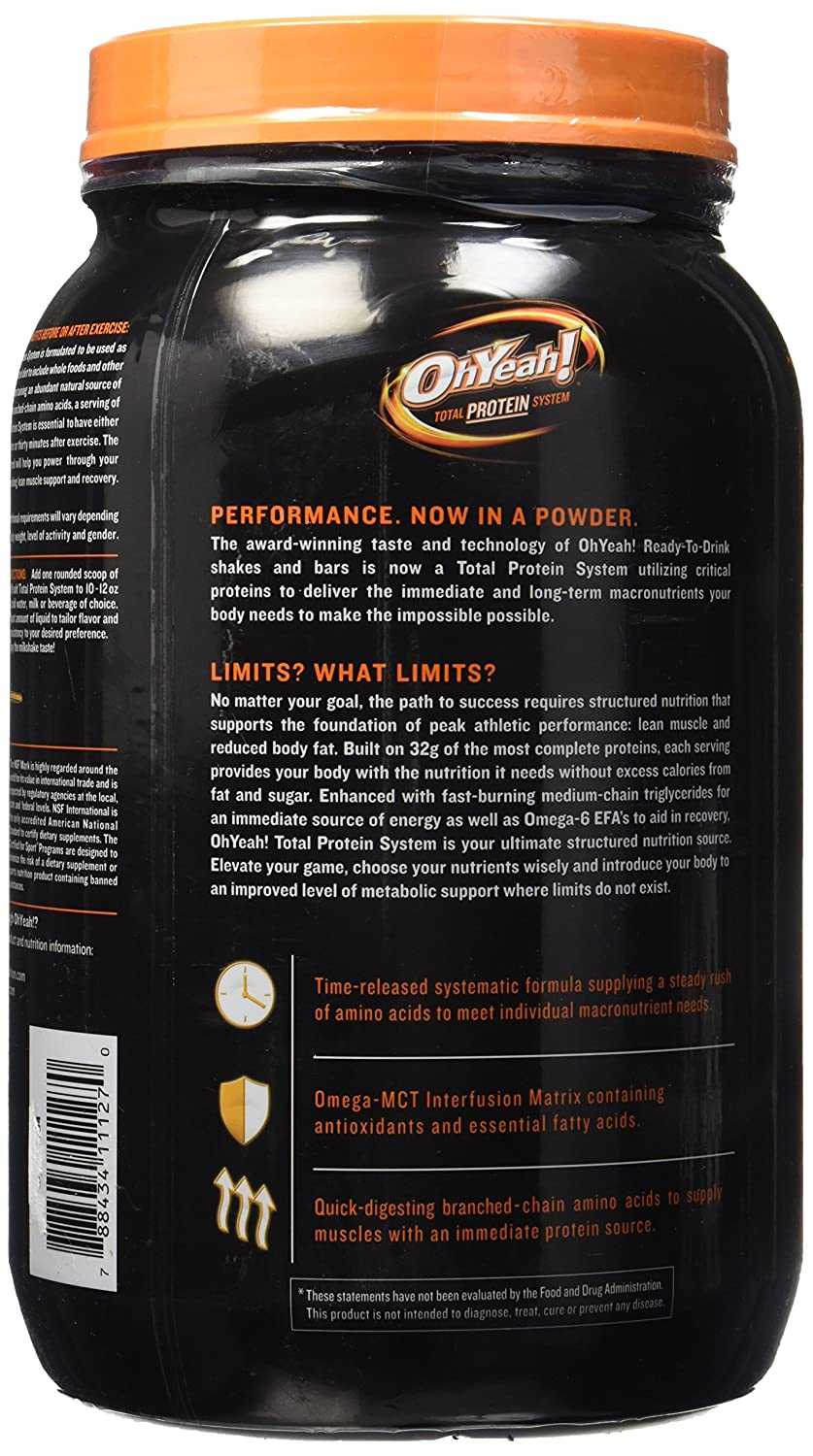 Iss Ohyeah Protein Powder Vanilla 2.4lb