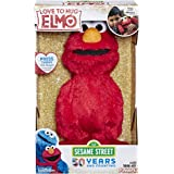 "Sesame Street Love to Hug Elmo Talking, Singing, Hugging 14"" Plush Toy for Toddlers, Kids 18 Months & Up"