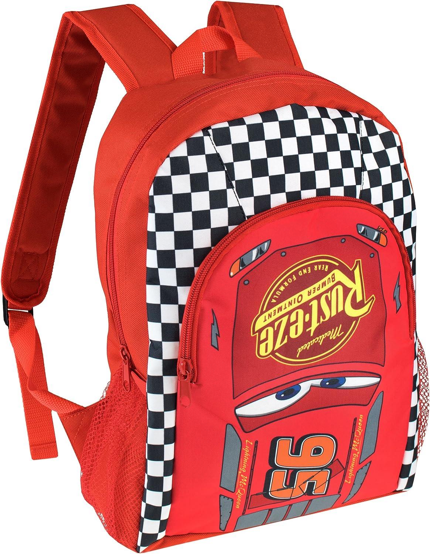 New Cute Cars McQueen Cartoon Drawstring Backpack Kids School Bag C2#