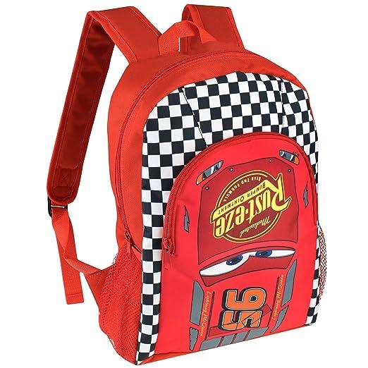 cd0693cd64b3 Disney Cars Boys Cars Lightning McQueen Backpack  Amazon.co.uk  Clothing