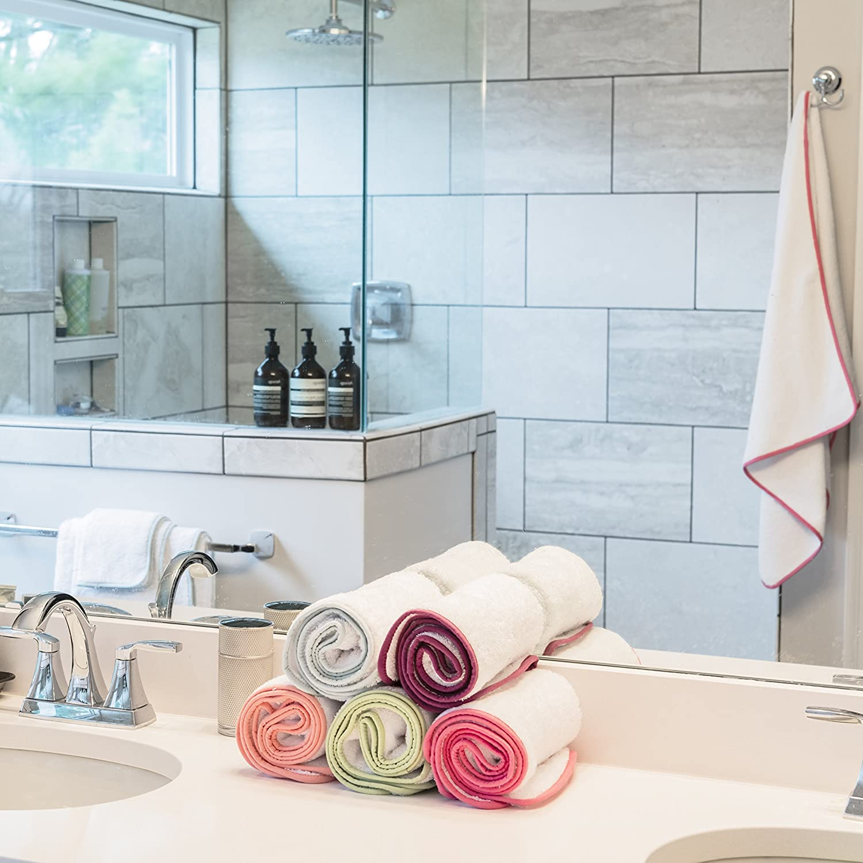 Amazon.com: Bathroom Towel Set by Macouba: Superior Quality 600GSM ...