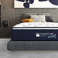 Deals on Signature Sleep Reset 12-inch Nanobionic Pillow Top Hybrid Mattress Twin