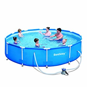 "Bestway Steel Pro 12'x30"" Frame Pool Set"