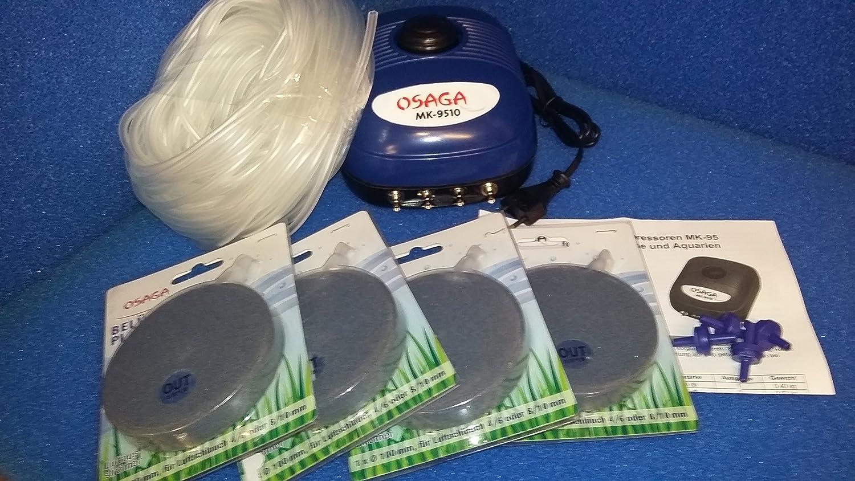 Osaga Membrane Compresseur mk-9510 avec 4 sorties