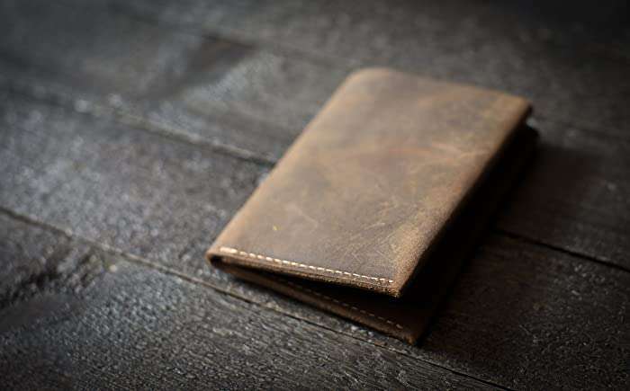 42ae37c6393ecc Amazon.com: Wallet, Leather Wallet, Personalized Leather Wallet, Front  Pocket Slim Design, Minimalist Credit Card Wallet, Mens Wallet: Handmade