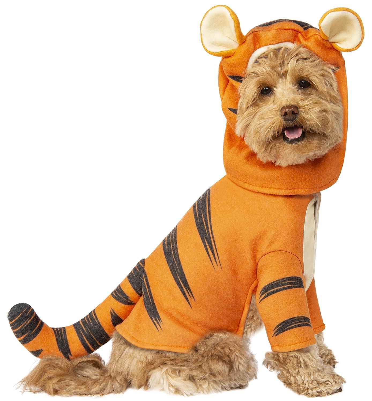 ad2debe4d Amazon.com : Rubie's Disney: Winnie the Pooh Pet Costume, Tigger, Medium :  Pet Supplies