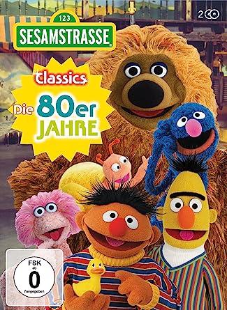 b2962137de Sesamstrasse Classics - Die 80er Jahre [2 DVDs]: Amazon.de: Samson ...
