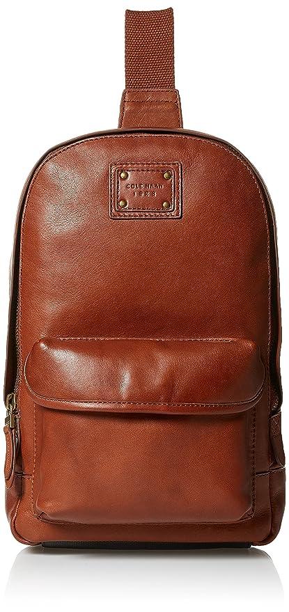 32e320c0e Cole Haan Men's Van Buren Leather Sling, British Tan: Amazon.in ...