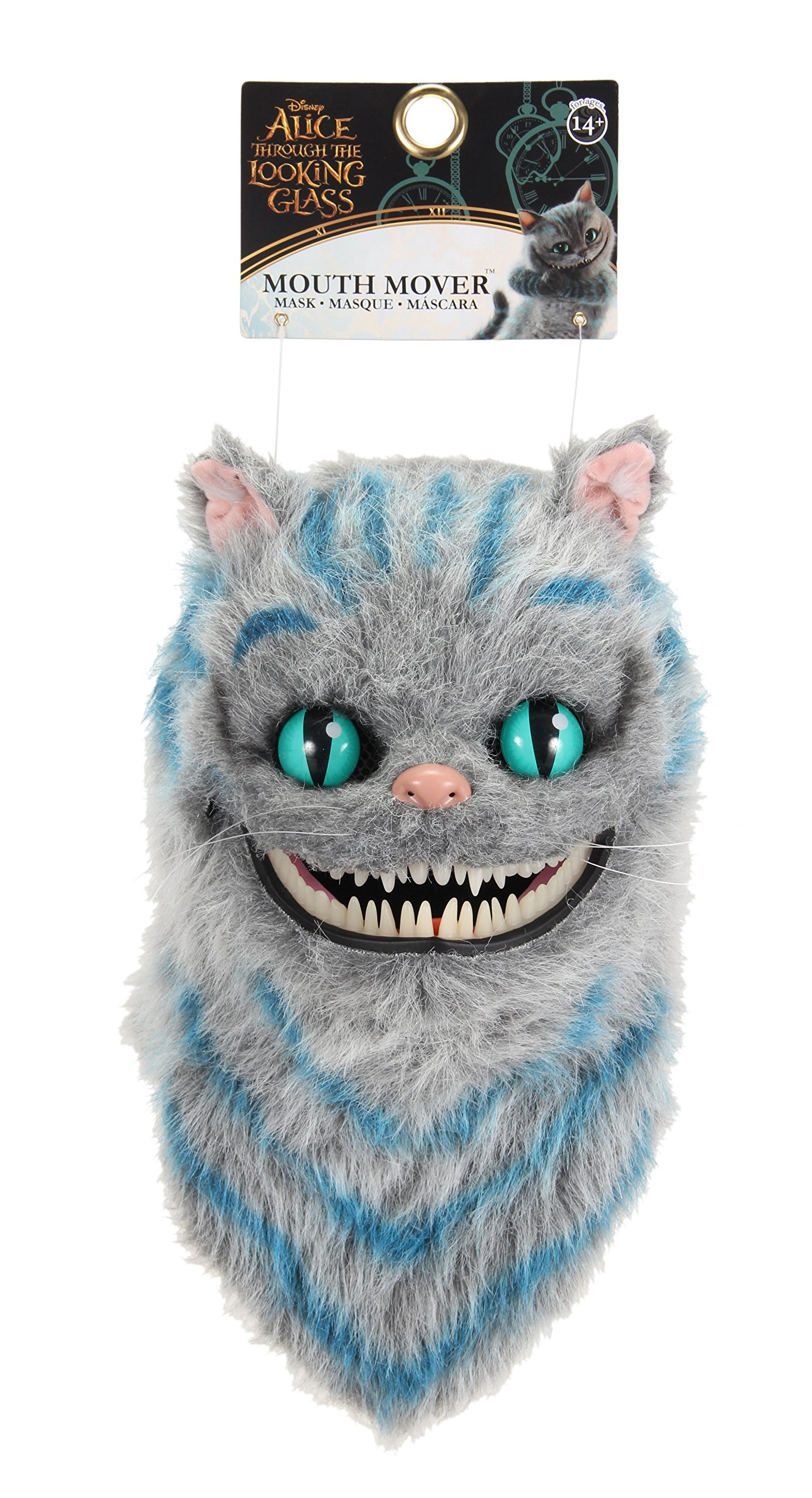Alice in Wonderland Cheshire Cat Mouth Mover Mask - ST