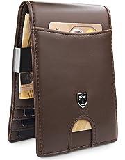 TRAVANDO ® Portefeuille Homme Pince à Billets Rio - 7 Rangements Cartes -  Blocage RFID - e297e90b23e