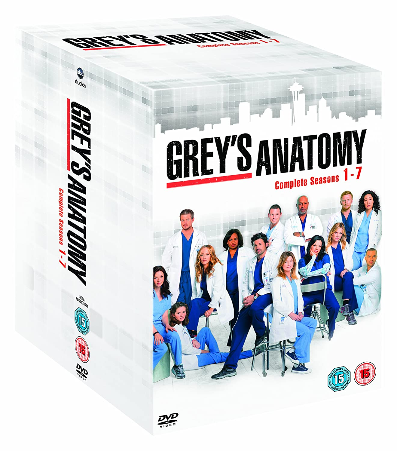 Grey\'s Anatomy - Season 1-7 [DVD]: Amazon.co.uk: Ellen Pompeo ...