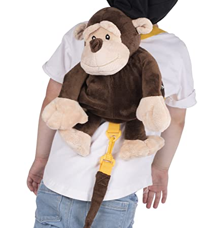 Amazon.com : Animal Planet Baby Backpack with Safety Harness, Monkey