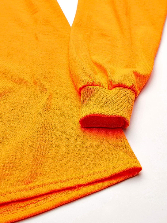 Gildan Mens Ultra Cotton Adult Long Sleeve T-Shirt 2-Pack